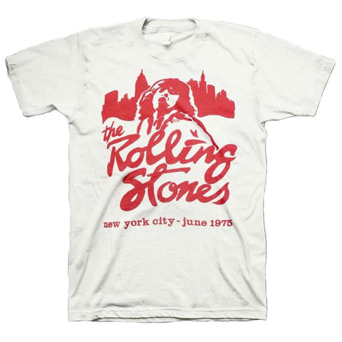 The Rolling Stones Mick June 1975 NYC Men's T-Shirt