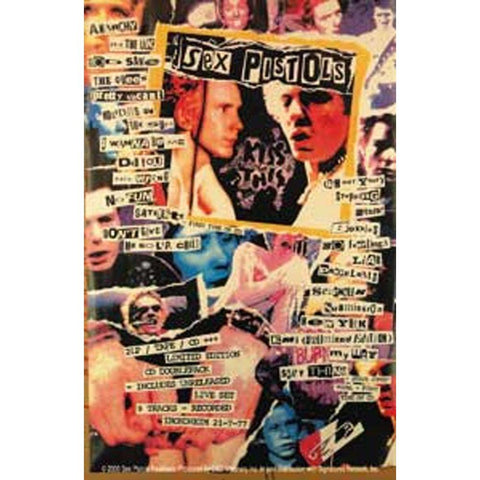 Sex Pistols Poster Sticker
