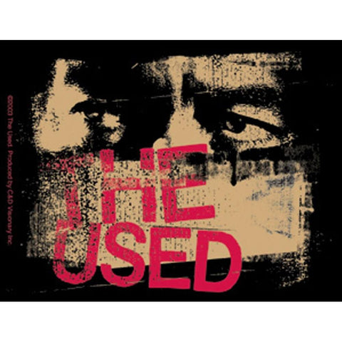 The Used Face Sticker