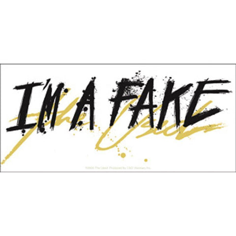 The Used I'm A Fake Sticker