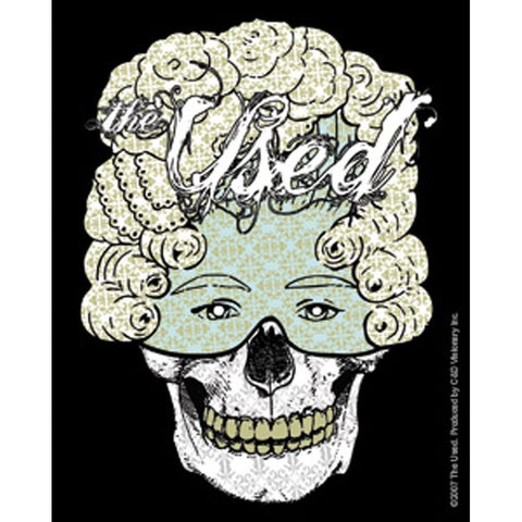 The Used Skelemask Sticker