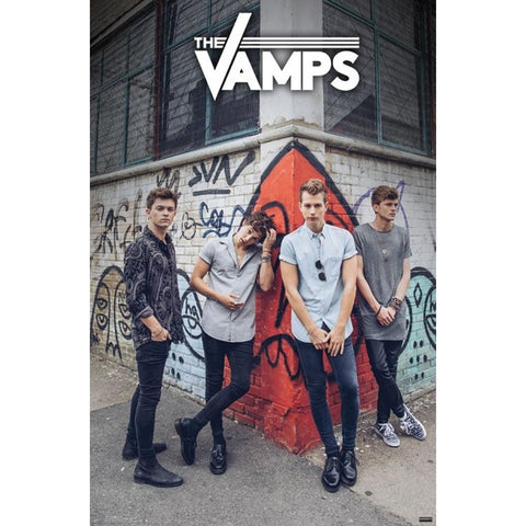 The Vamps Corner Poster