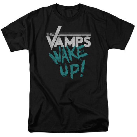 The Vamps Special Order Wake Up Men's 18/1 100% Cotton Short-Sleeve T-Shirt