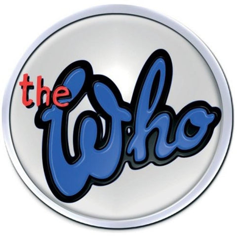 The Who 73 Logo Enamel Button