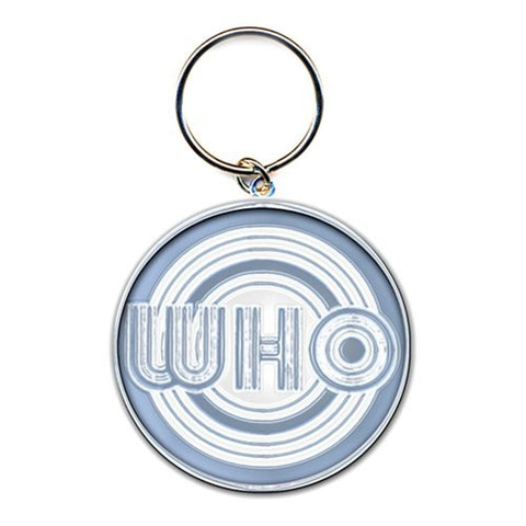 The Who Circles Logo Keychain