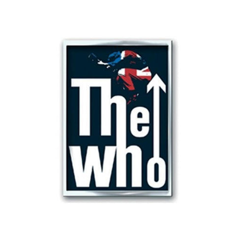 The Who Leap Logo Button