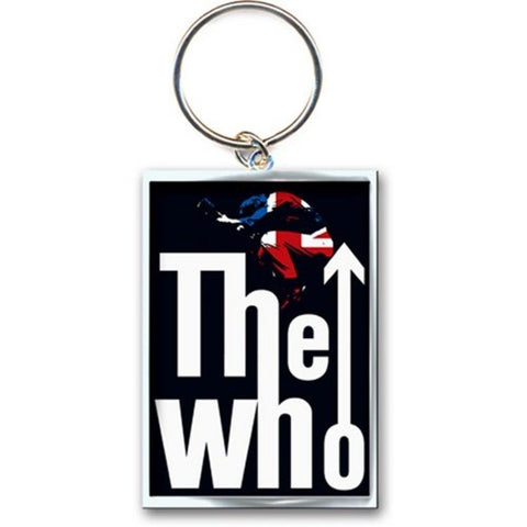 The Who Leap Logo Metal Keychain