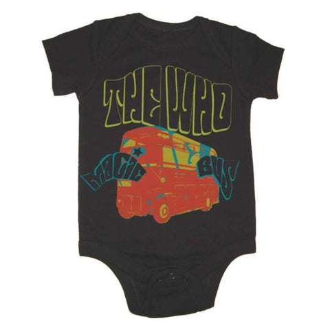 The Who Magic Bus Infant One-Piece Bodysuit