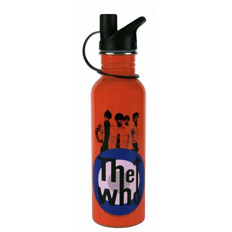 The Who Red White And Blue Water Bottle