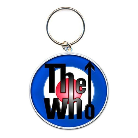 The Who Target Logo Metal Keychain