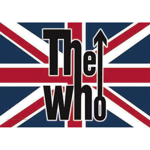 The Who UK Fabric Poster