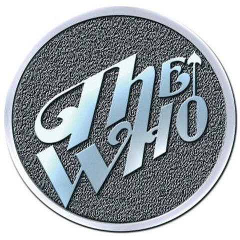 The Who Arrow Logo Button