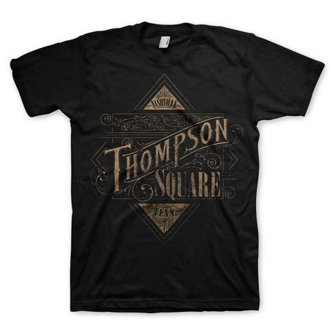 Thompson Square Nashville Logo Men's T-Shirt