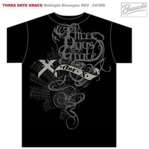 Three Days Grace Midnight Strangler Men's T-Shirt