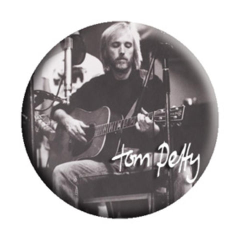 Tom Petty Acoustic Button