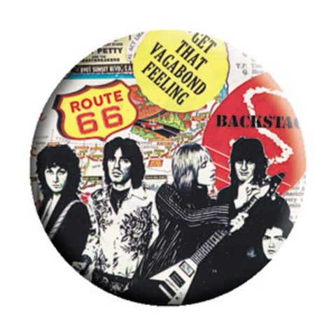 Tom Petty CBGBs Button