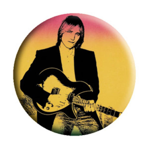 Tom Petty Full Moon Button