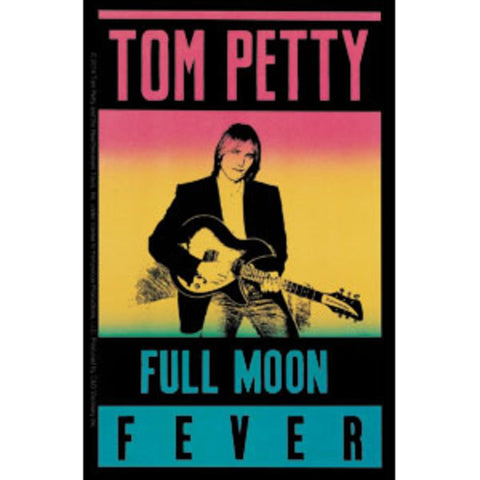 Tom Petty Full Moon Sticker