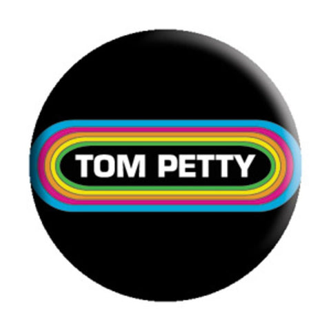 Tom Petty Rainbow Button