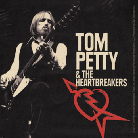 Tom Petty Rocking Sticker