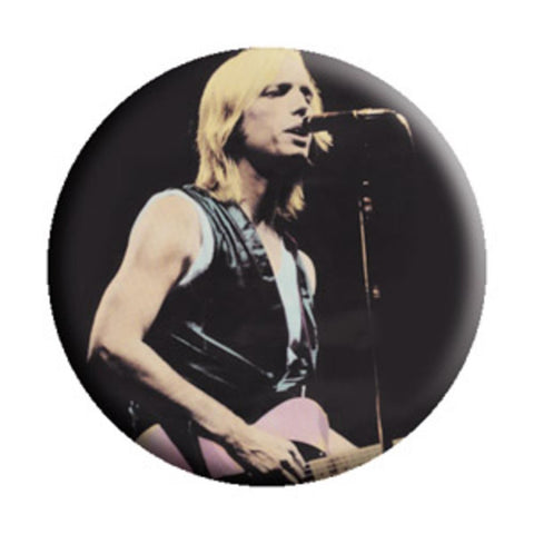 Tom Petty Singing Button