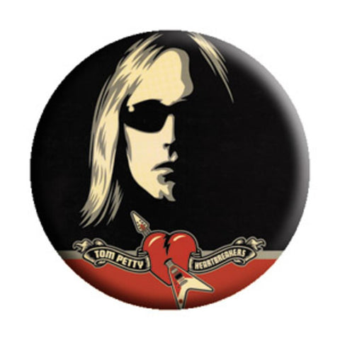 Tom Petty Sunglasses Button