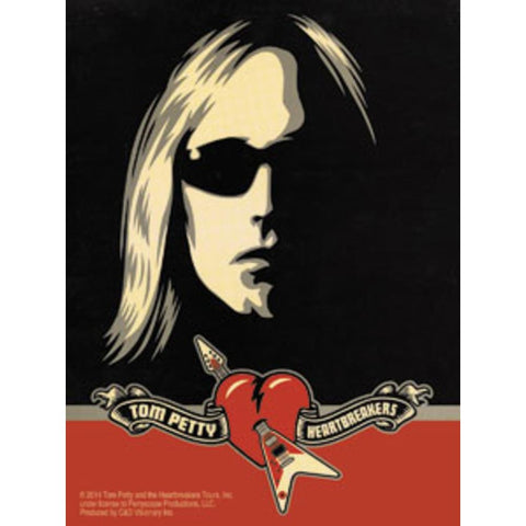 Tom Petty Sunglasses Sticker