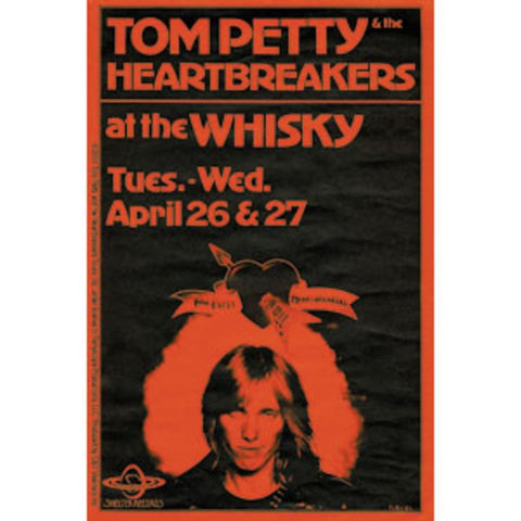 Tom Petty Whiskey Sticker