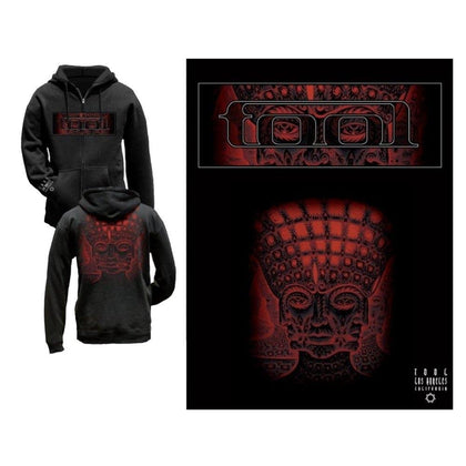 Tool Red Face Men's Zip Hoodie