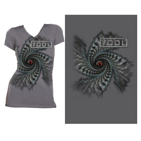 Tool Spiral Women's V-Neck T-Shirt