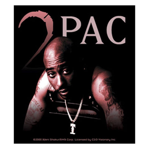 Tupac Chair Sticker