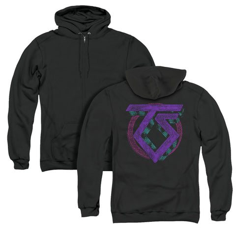 Twisted Sister Symbol (Back Print) Men's Pull-Over Hoodie