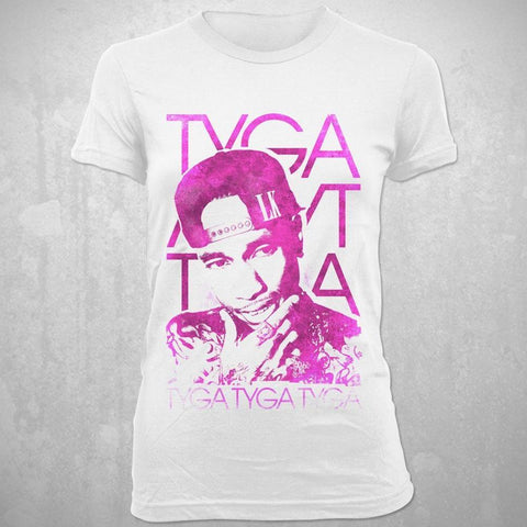 Tyga Swirly Colors Women's T-Shirt