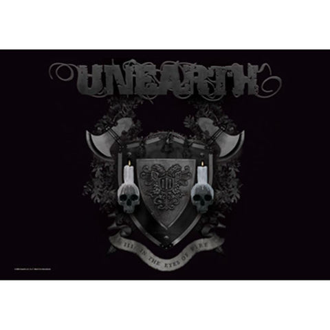 Unearth In The Eyes Of Fire Fabric Poster