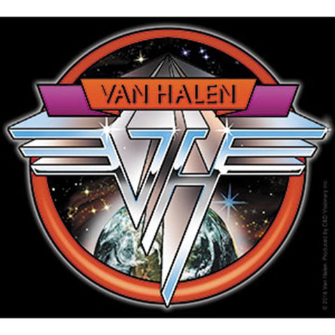 Van Halen Space Logo Sticker
