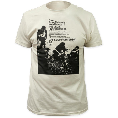 Velvet Underground Come Step Softly Men's Fitted T-Shirt