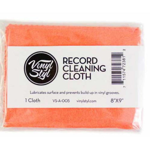 Vinyl Styl Lubricated Cleaning Cloth VS-A-005