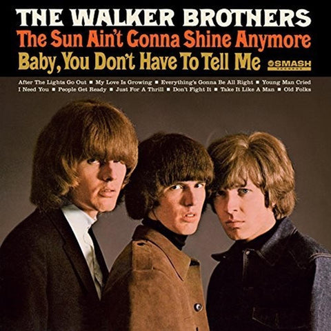Walker Brothers - Sun Ain't Gonna Shine Anymore - Vinyl LP