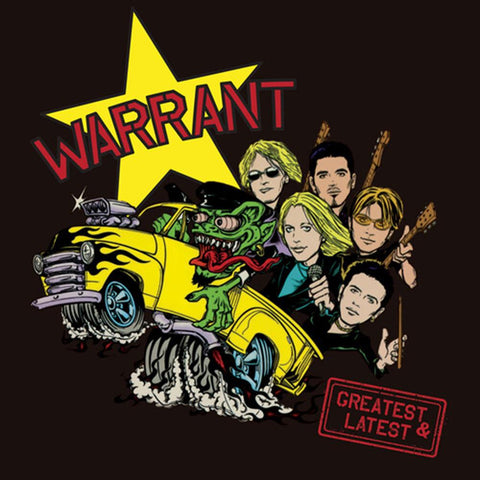 Warrant - Greatest & Latest (Cherry Splatter Vinyl) - Vinyl LP