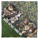 Where The Wild Things Are Wild Rumpus Dance Polyester Bandana