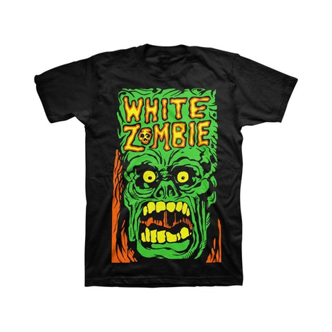 White Zombie Monster Yell Men's T-Shirt