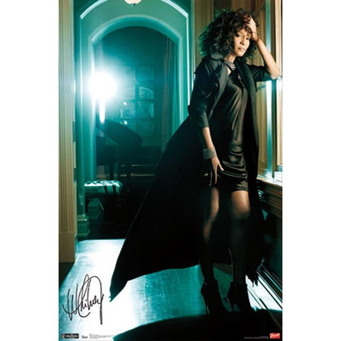 Whitney Houston Hallway Poster