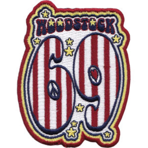 Woodstock 69 Patch