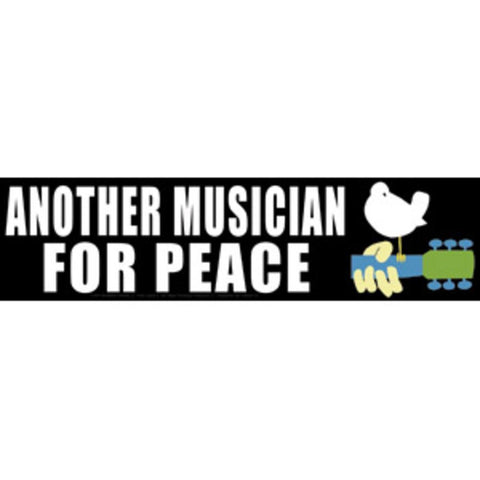 Woodstock Another Musician Sticker