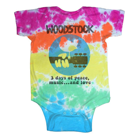 Woodstock Banded Baby One-Piece