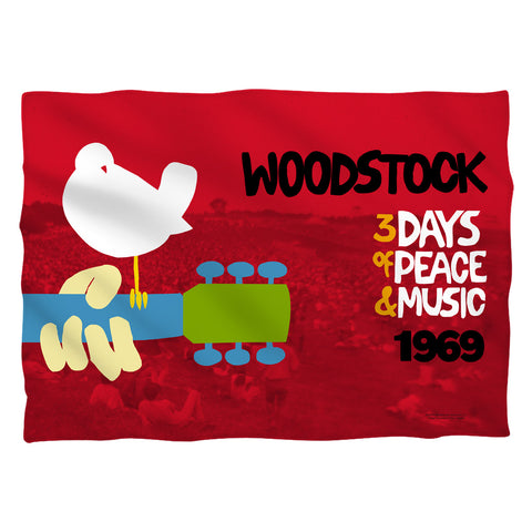 Woodstock Special Order Classic 100% Polyester Pillow Case (Pillow Not Included)
