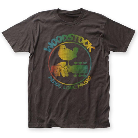 Woodstock Colorful Logo Men's Fitted T-Shirt
