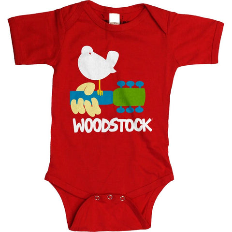 Woodstock Dove & Guitar Toddler One-Piece