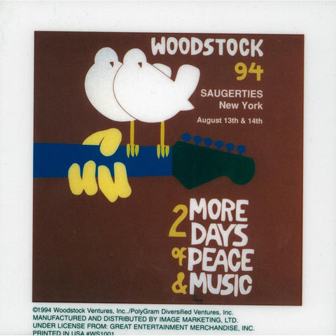Woodstock Doves Static Sticker