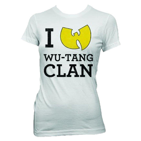 Wu-Tang Clan I Love Wu-Tang Clan Women's Tissue T-Shirt